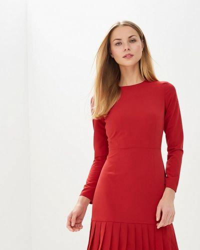 Красное платье-футляр Self Made