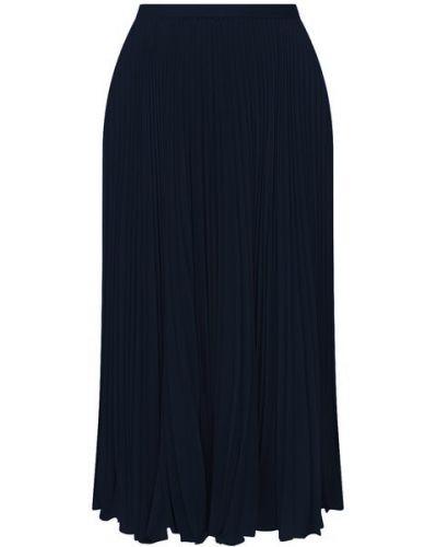 Плиссированная юбка - синяя Polo Ralph Lauren