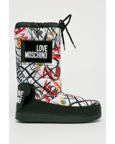 Сапоги зимние теплые Love Moschino