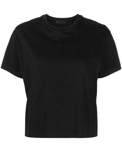Хлопковая футболка - черная Atm Anthony Thomas Melillo