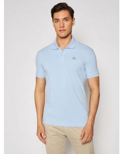 Niebieska koszulka La Martina