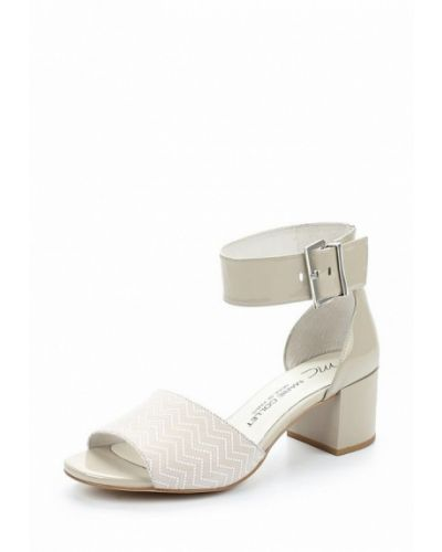 Босоножки на каблуке лаковые Marie Collet