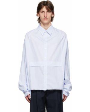 Облегченная рубашка с воротником с нашивками с манжетами Camiel Fortgens
