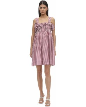 Sukienka mini w paski bawełniana Pushbutton