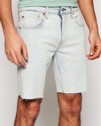 Szorty jeansowe - niebieskie Levi's