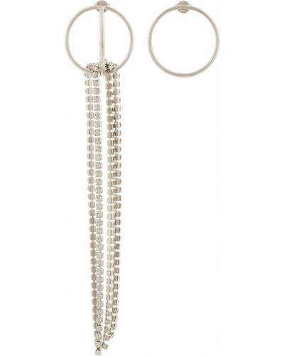 Серьги-гвоздики серьги-кольца набор Le Chic Radical