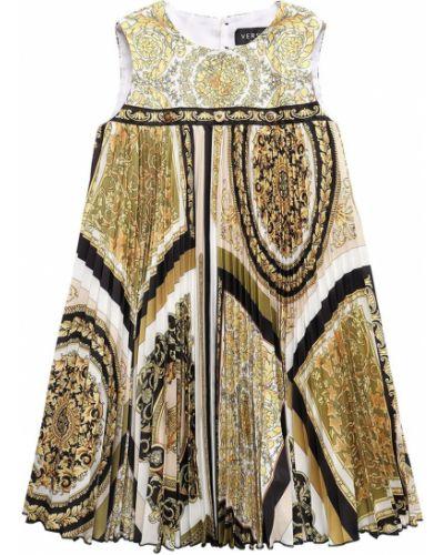 Sukienka z printem Versace