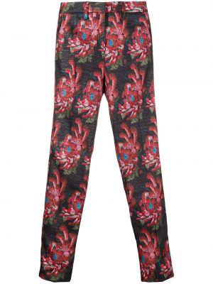 Укороченные брюки розовый брюки-хулиганы John Richmond