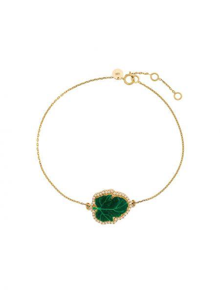 Bransoletka ze złota z diamentem metal Nevernot
