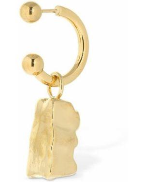 Złote kolczyki ze złota Saf Safu