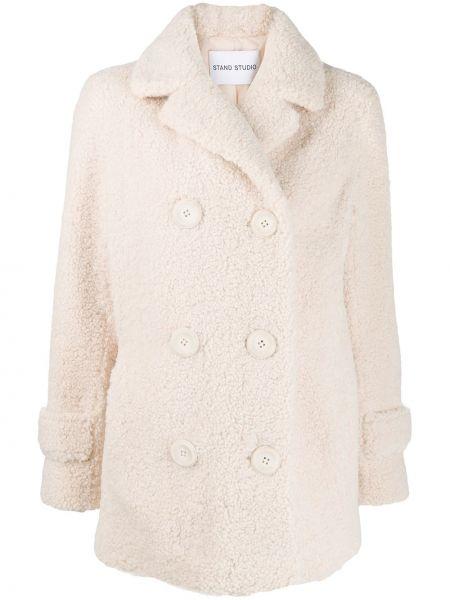 Длинное пальто с капюшоном на пуговицах Stand