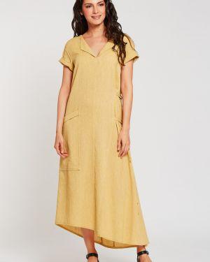 Платье платье-сарафан с карманами D`imma Fashion Studio