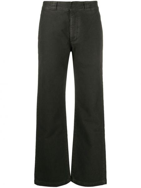 Широкие брюки - черные Yeezy