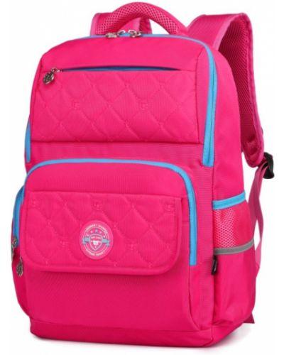 Мягкий розовый школьный рюкзак для ноутбука Sun Eight