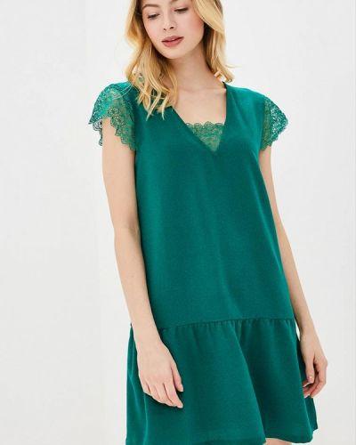 Зеленое платье весеннее Sweewe