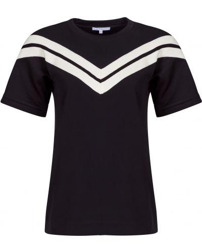 Футбольная черная футболка Patrizia Pepe