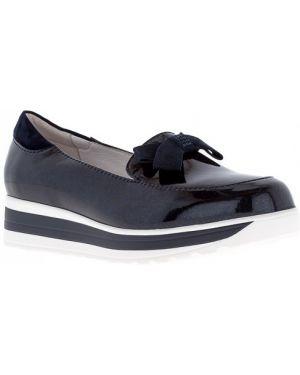 Школьные туфли со стразами на платформе Kakadu