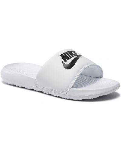 Klapki - białe Nike