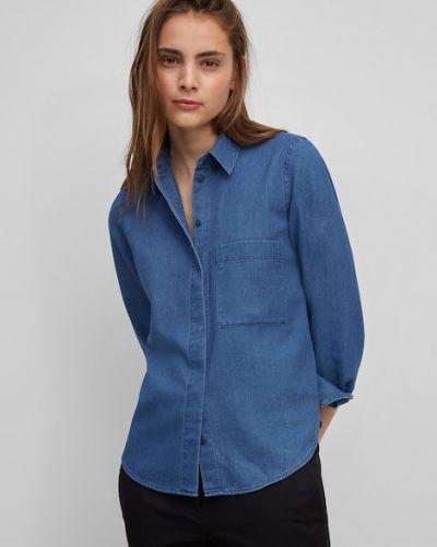 Niebieska koszula bawełniana Marc O Polo