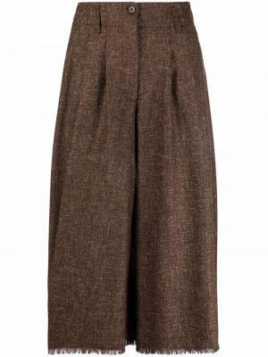 Коричневые брюки на шпильке Antonelli