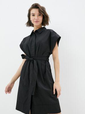 Черное платье-рубашка Compania Fantastica