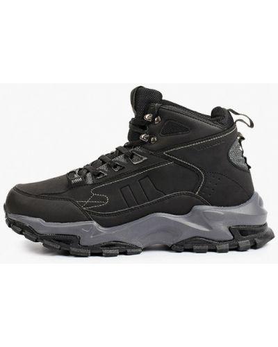 Черные кроссовки осенние Patrol