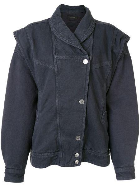 Джинсовая куртка на пуговицах с карманами Isabel Marant