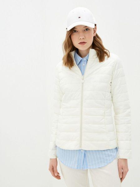 Теплая белая утепленная куртка Macleria