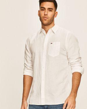 Koszula klasyczna dżinsowa długa Tommy Jeans