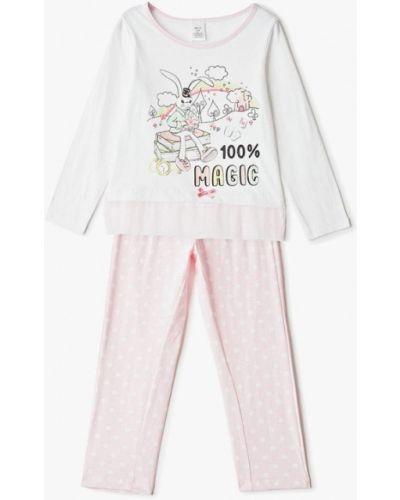 Пижама розовый белая Sela