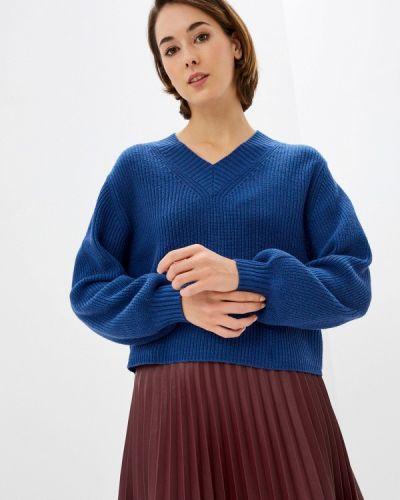 Синий пуловер Rodier