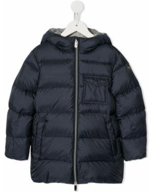 Niebieska kurtka pikowana elegancka Il Gufo