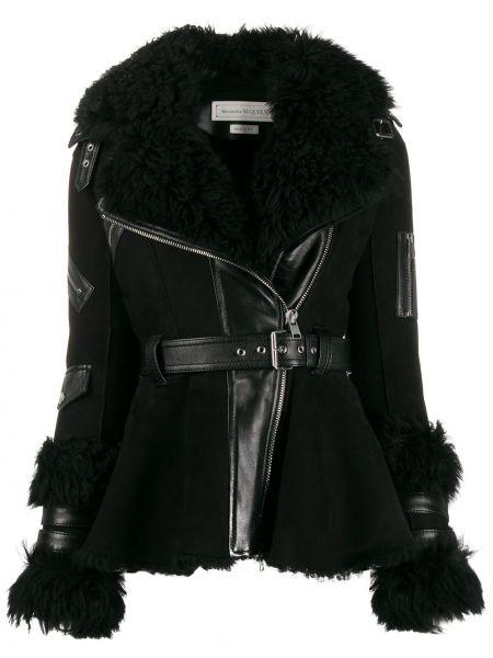 Куртка черная на молнии Alexander Mcqueen