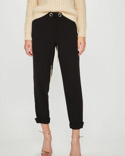 Брюки с завышенной талией с карманами брюки-сигареты Guess Jeans