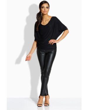 Czarna bluzka elegancka nietoperze Lemoniade