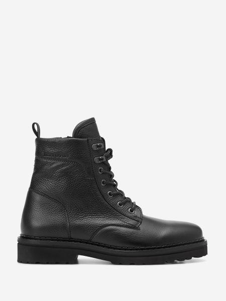 Кожаные ботинки - черные Marc O'polo