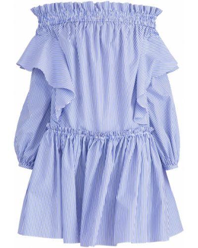Платье итальянский с оборками Alexander Mcqueen
