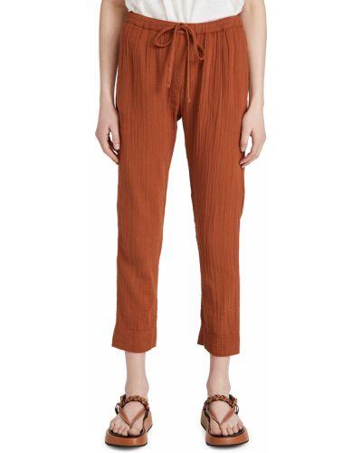 Ватные хлопковые брюки на резинке Xírena