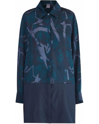 Блузка шелковая однотонная Lorena Antoniazzi