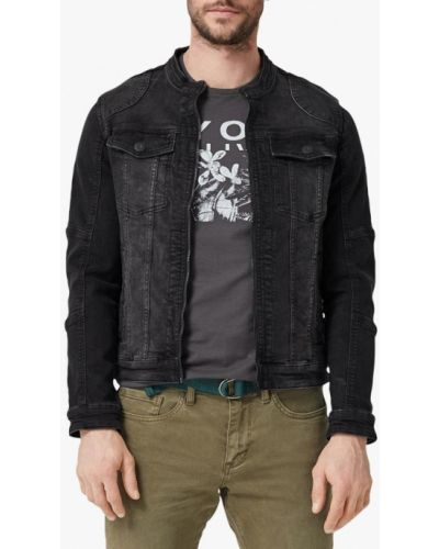Джинсовая куртка черная S.oliver
