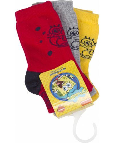 Хлопковые красные носки Original Marines