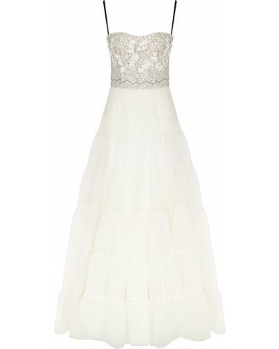 Вечернее платье из органзы ажурное Yana Dress