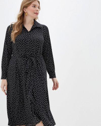 Платье платье-рубашка осеннее Evans