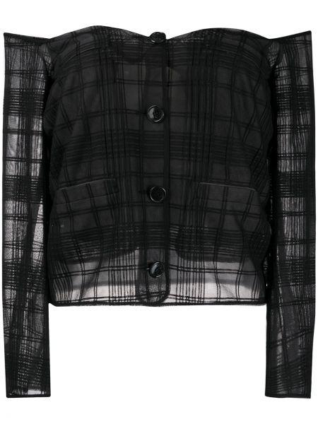 Bluzka z długim rękawem z wzorem długa Marco De Vincenzo