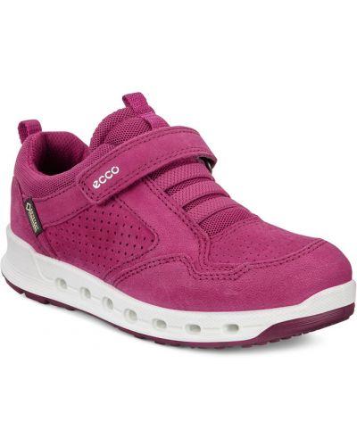 Кроссовки кожаные фиолетовый Ecco