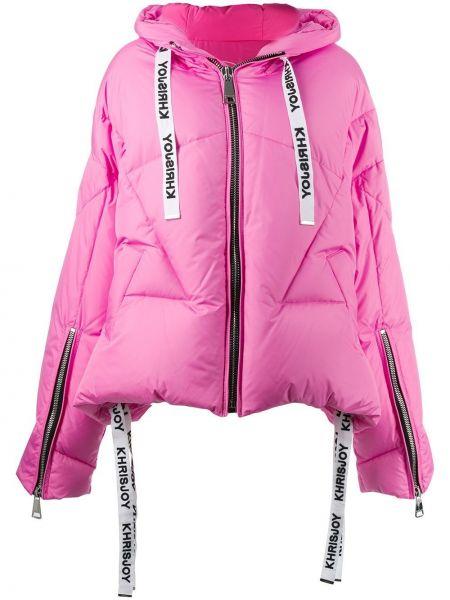 Дутая куртка - розовая Khrisjoy