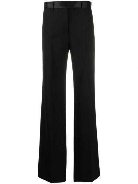 Шерстяные черные брюки с карманами Paul Smith