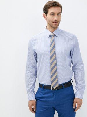 Голубая рубашка осенняя Henderson