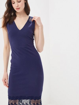 Платье - синее Dorothy Perkins