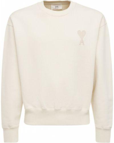 Bluza dresowa - biała Ami Alexandre Mattiussi